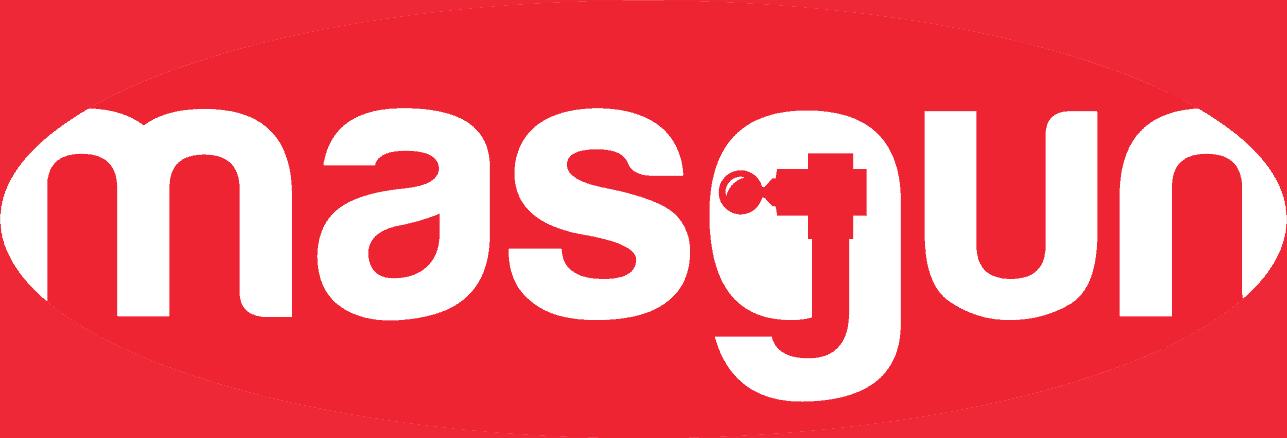 Het officiele masgun logo